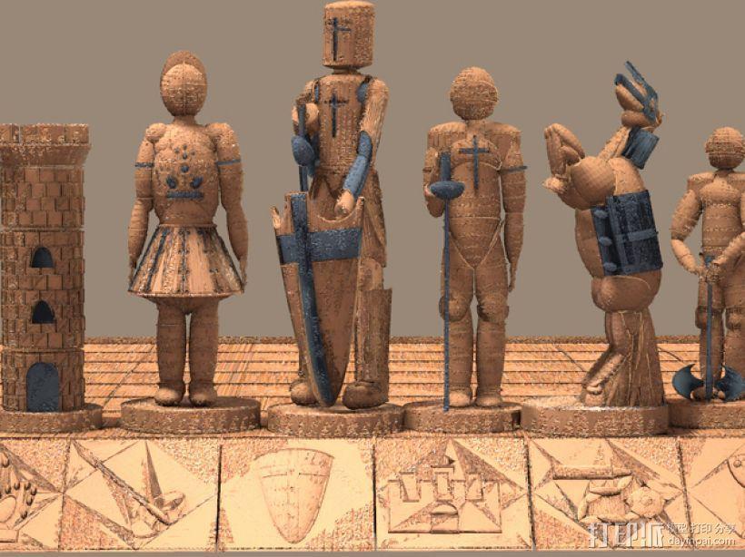 古董象棋 3D模型  图4