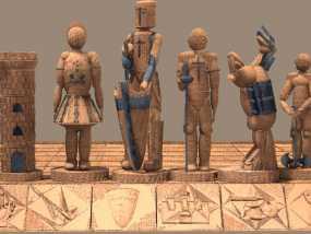 古董象棋 3D模型