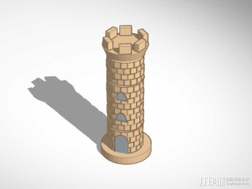 古董象棋 3D模型  图3