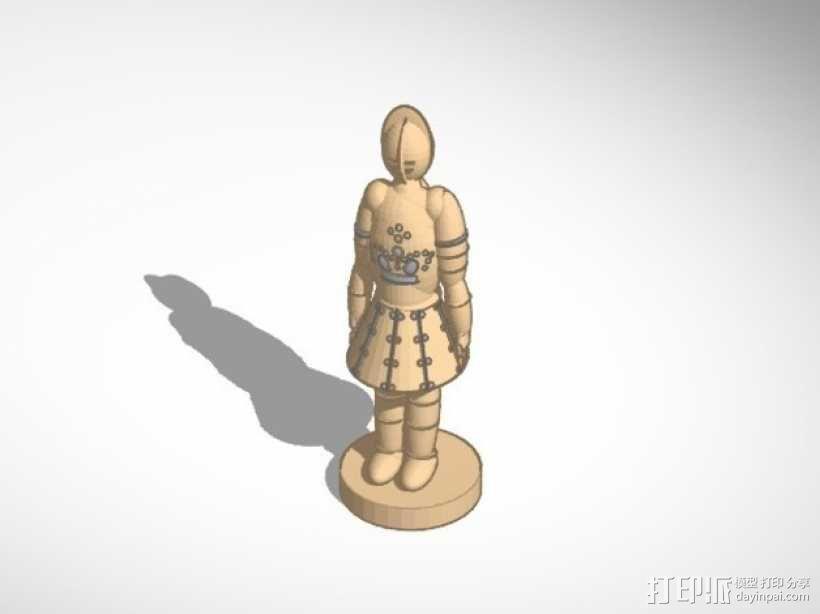 古董象棋 3D模型  图2