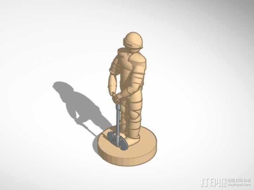 古董象棋 3D模型  图7