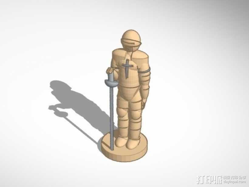 古董象棋 3D模型  图5