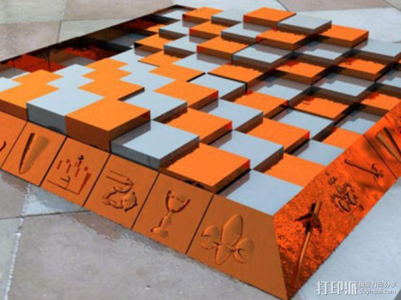 古董象棋 3D模型  图16