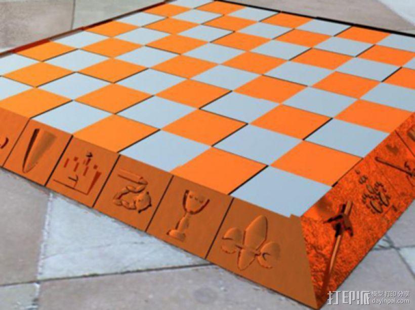 古董象棋 3D模型  图15