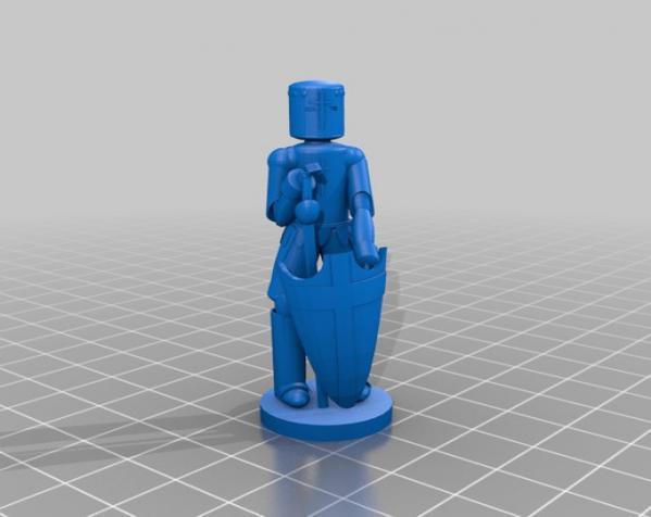古董象棋 3D模型  图17