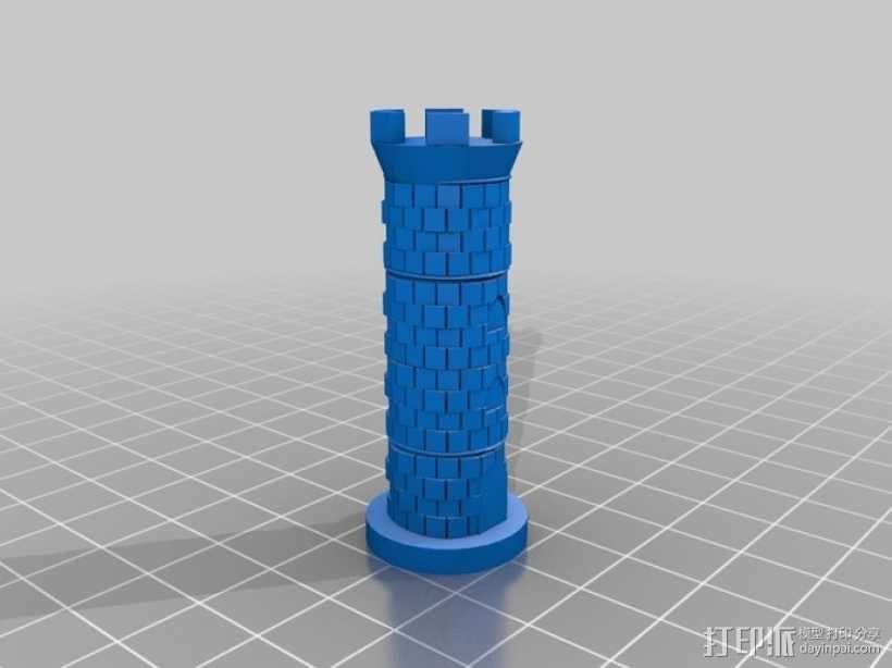 古董象棋 3D模型  图19