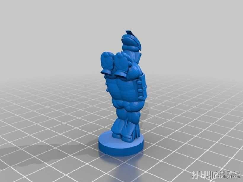 古董象棋 3D模型  图23