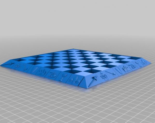 古董象棋 3D模型  图26