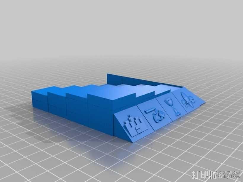 古董象棋 3D模型  图33