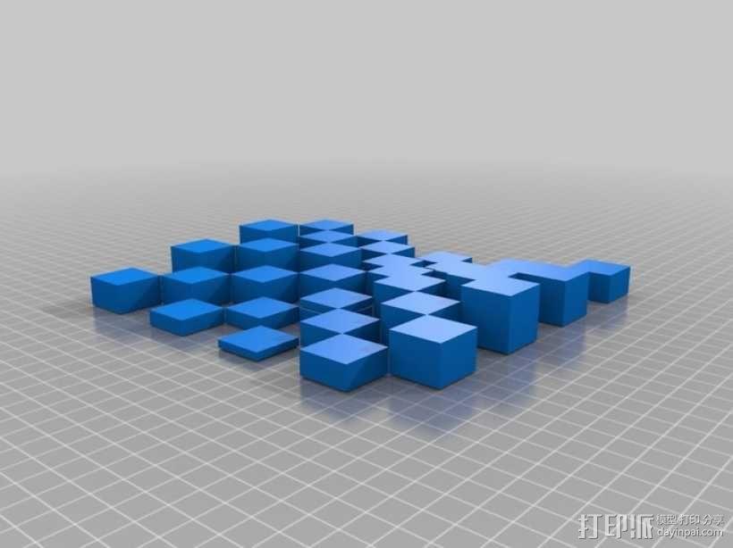 古董象棋 3D模型  图38