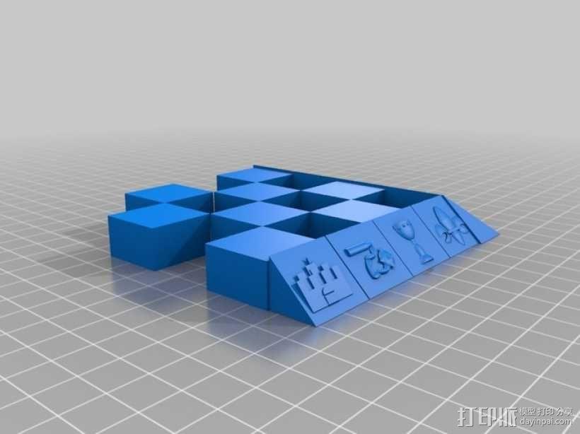 古董象棋 3D模型  图48