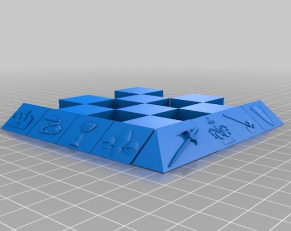 古董象棋 3D模型  图51