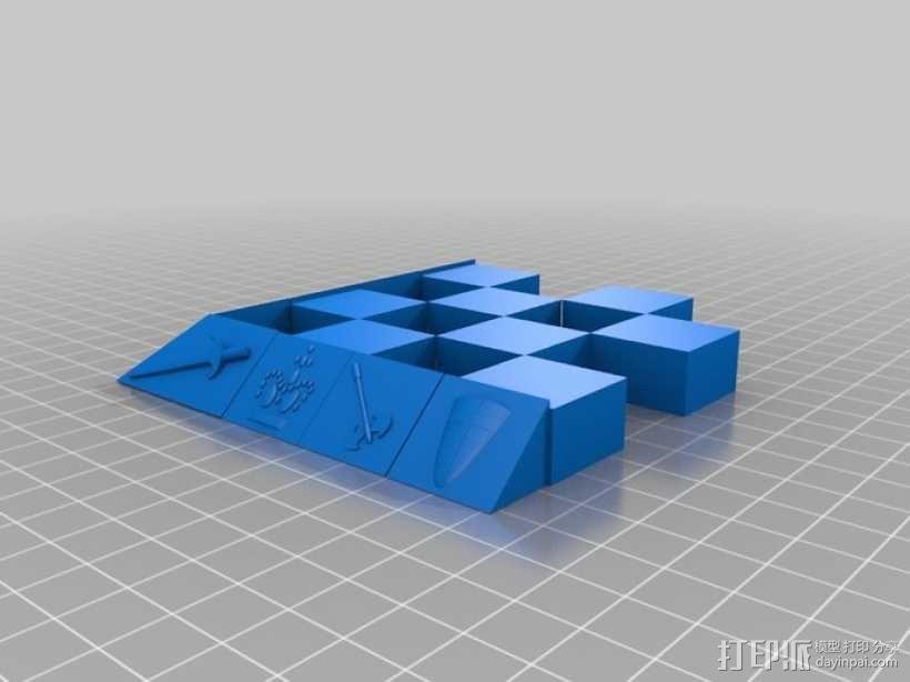 古董象棋 3D模型  图60