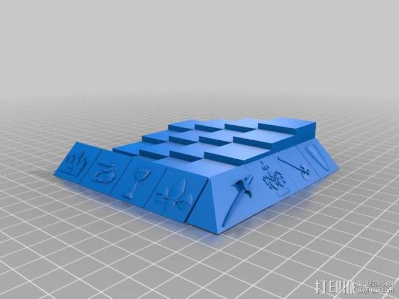 古董象棋 3D模型  图79