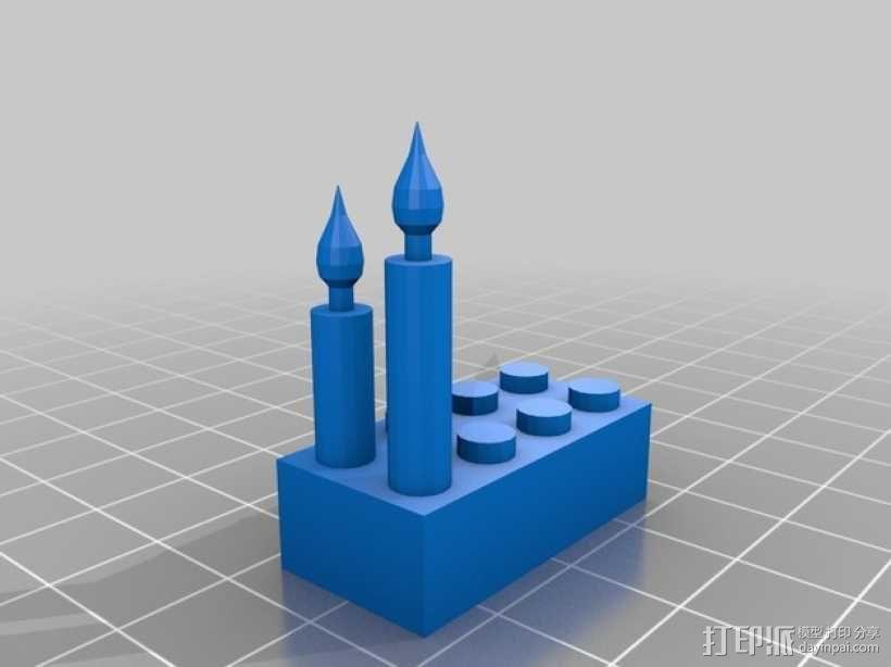 乐高方块 3D模型  图8