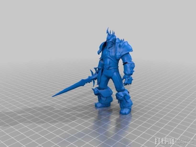 巫妖王 3D模型  图2