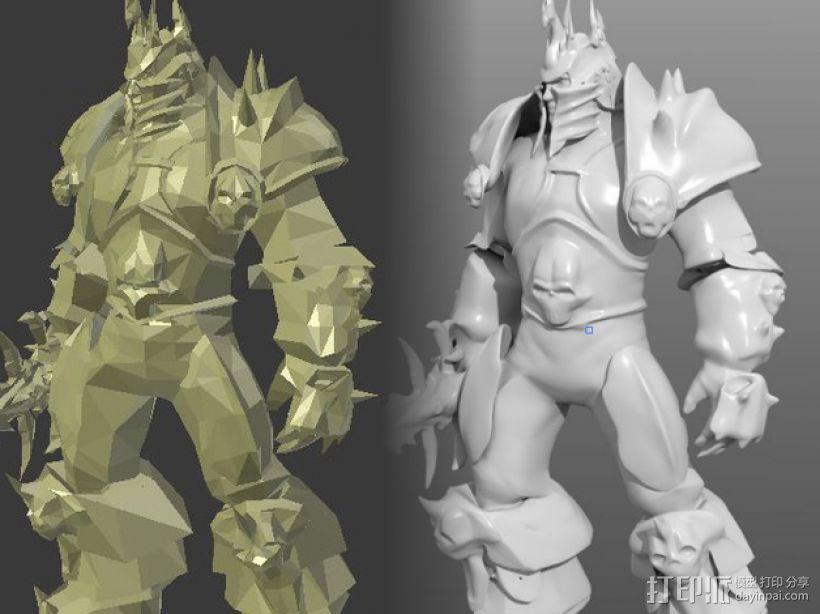 巫妖王 3D模型  图3