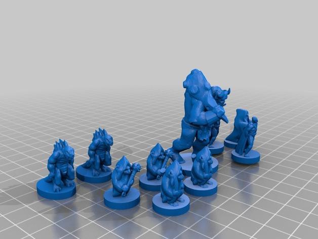 地下城 3D模型  图2