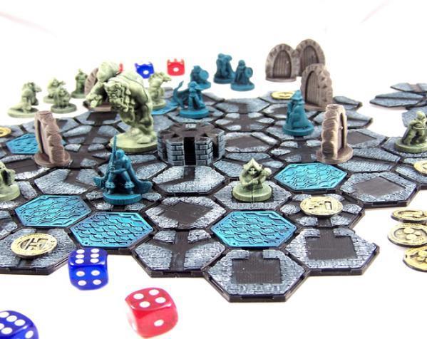 地下城 3D模型  图3