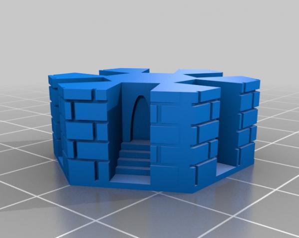 地下城 3D模型  图12