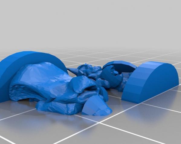 地下城 3D模型  图20