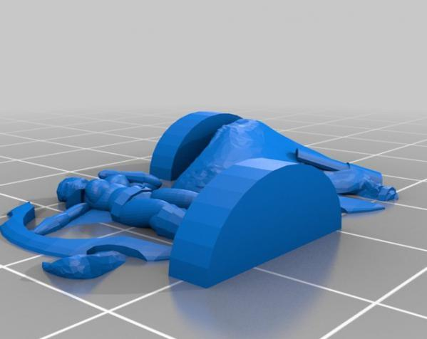 地下城 3D模型  图22