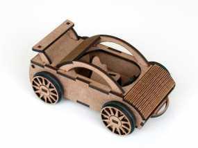 迷你跑车M1 3D模型