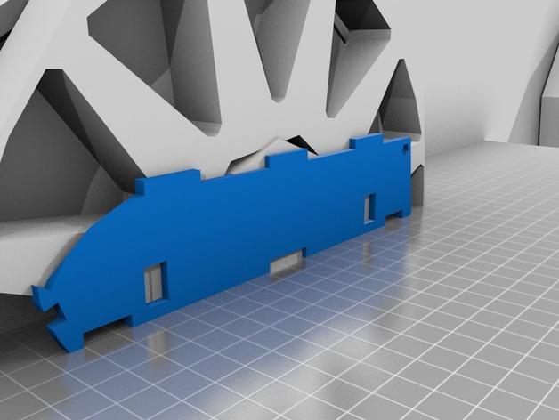 迷你跑车M1 3D模型  图2