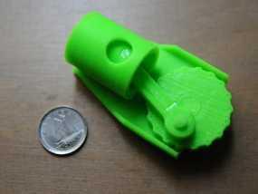单缸发动机 3D模型