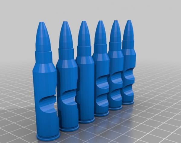 子弹拼图 3D模型  图1