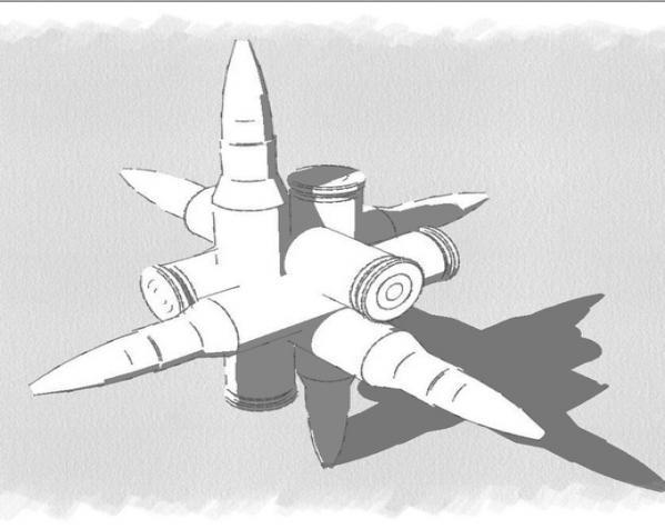 子弹拼图 3D模型  图5
