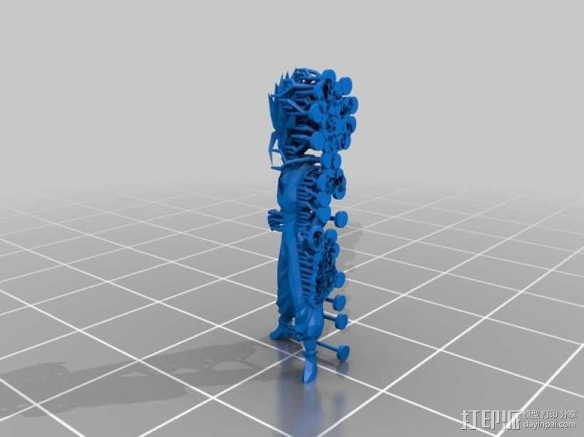 赛亚人 3D模型  图2