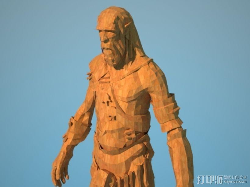 《上古轴卷5天际》巨人 3D模型  图1