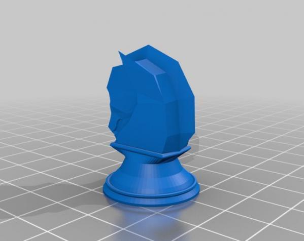 象棋 3D模型  图2