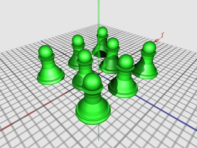 象棋 3D模型  图7