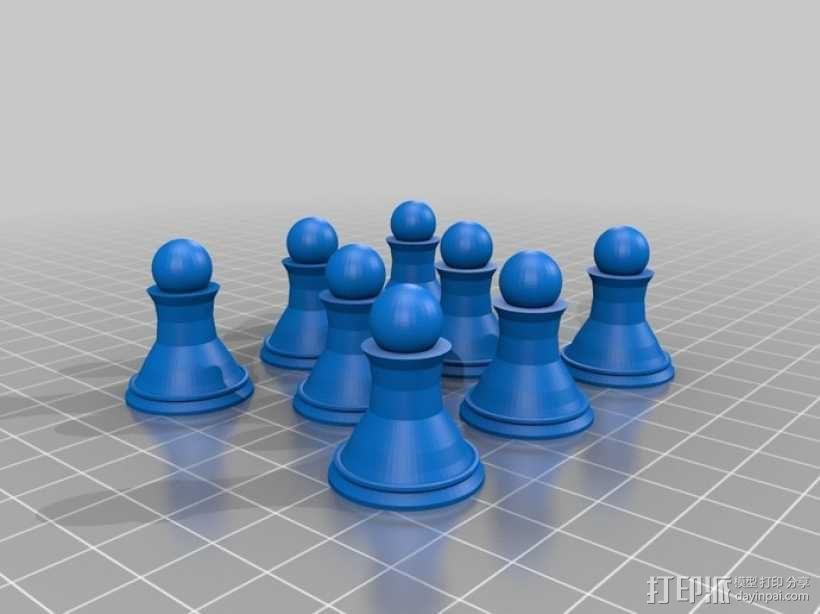 象棋 3D模型  图9
