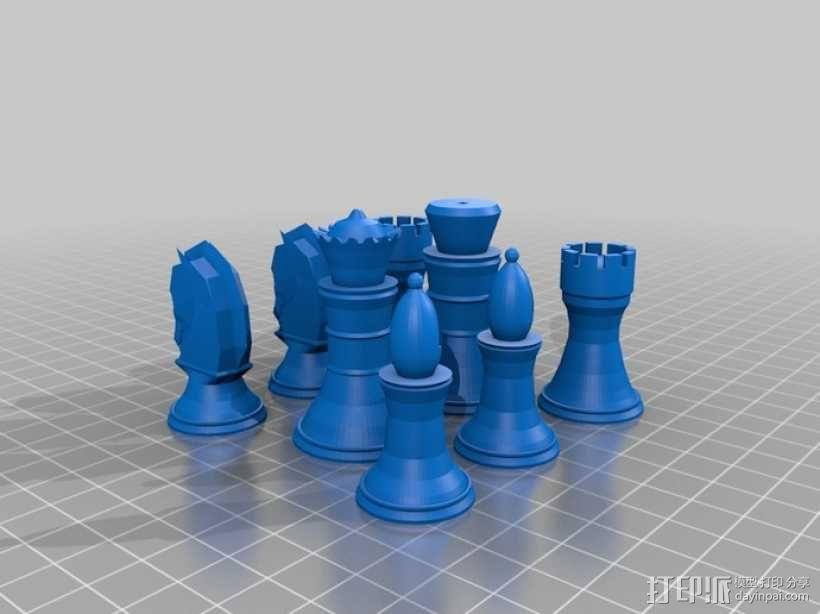 象棋 3D模型  图10