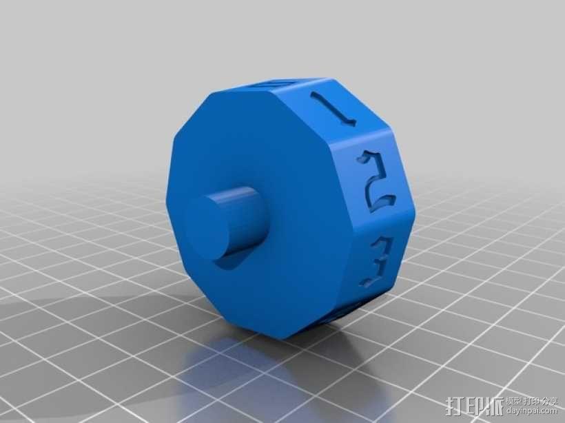 MTG计数器 3D模型  图5