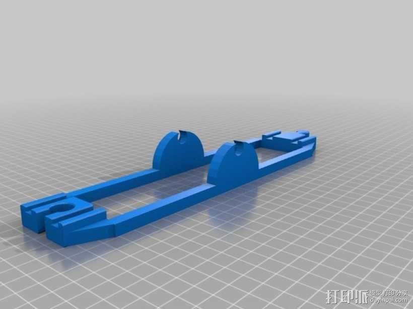 玩具火车坡道 3D模型  图2