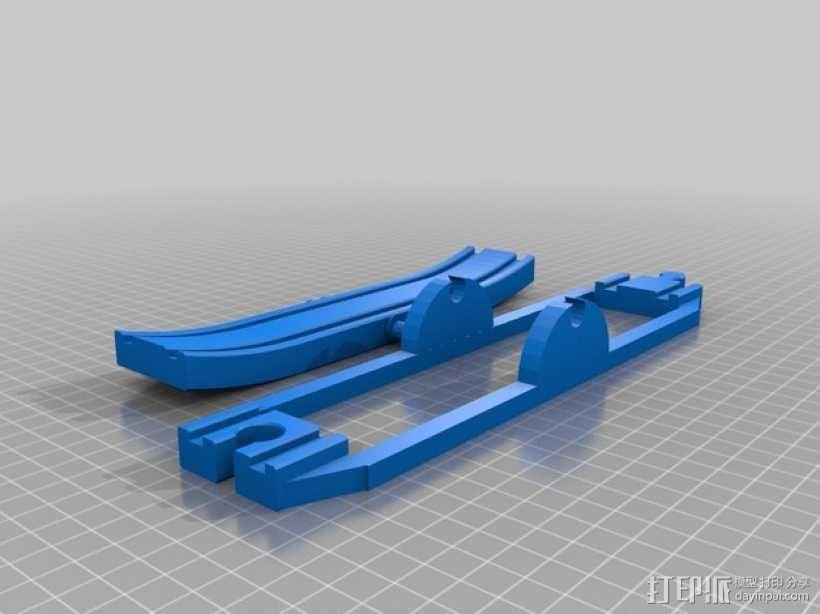 玩具火车坡道 3D模型  图4