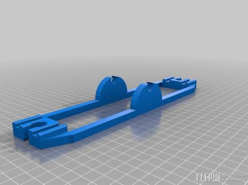 玩具火车坡道 3D模型  图5