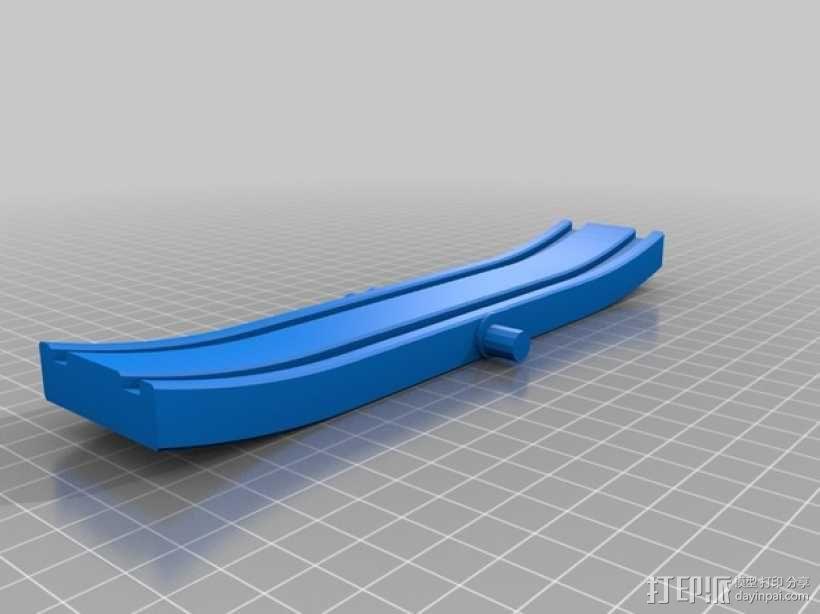 玩具火车坡道 3D模型  图3