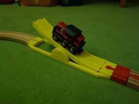 玩具火车坡道 3D模型