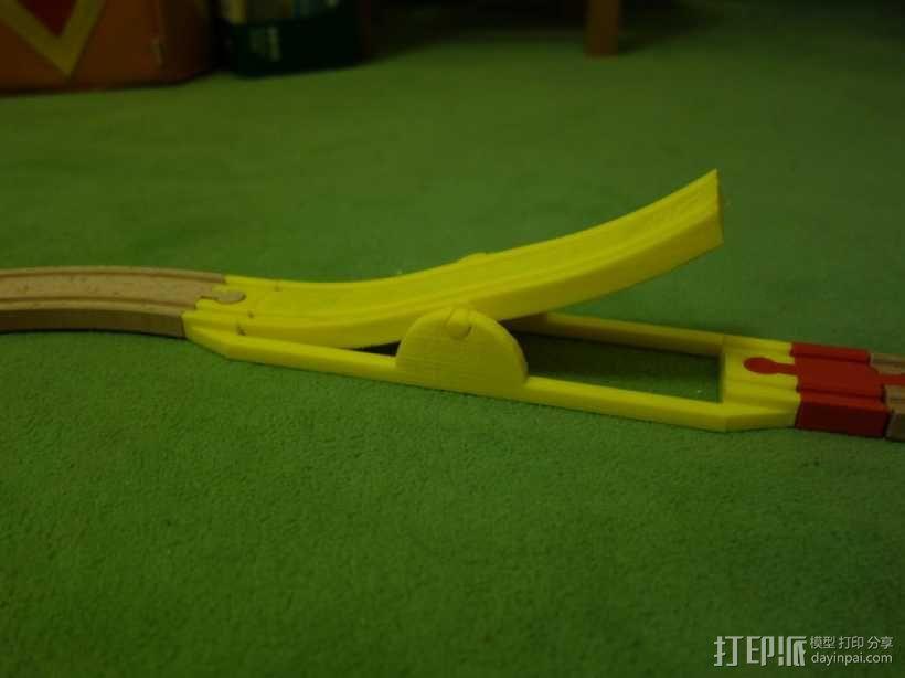 玩具火车坡道 3D模型  图7