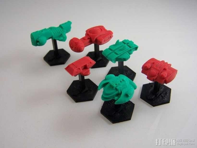 战争游戏基地 3D模型  图2