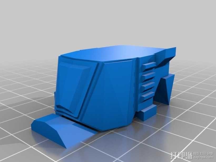步行器 3D模型  图2