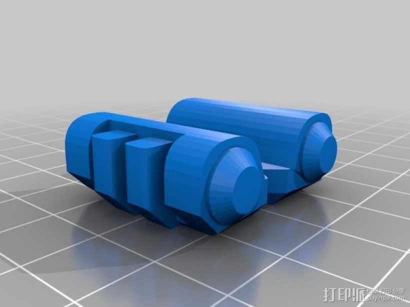 步行器 3D模型  图7