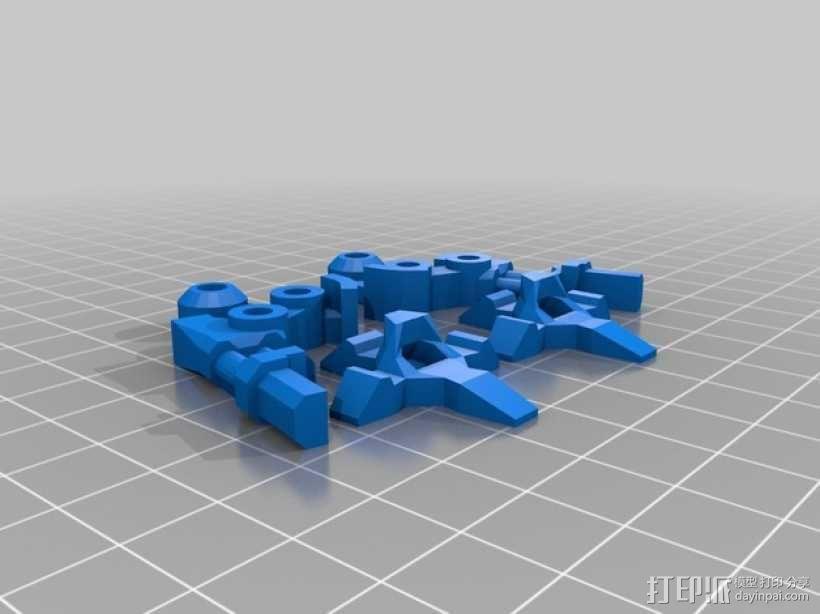 步行器 3D模型  图8