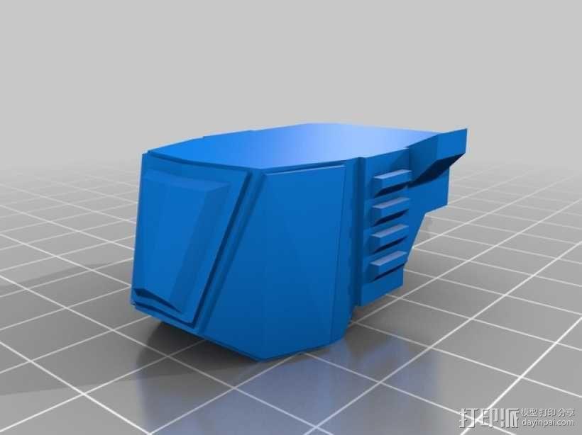步行器 3D模型  图10