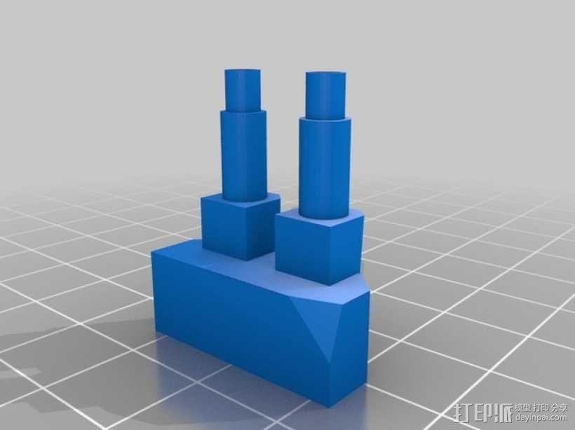 步行器 3D模型  图9